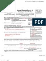 2006 Form 5500 Carpenter Pension Plan