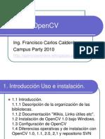 Open Cv Campus Party 2010
