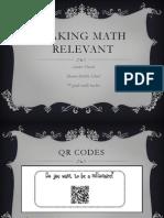 making math relevant