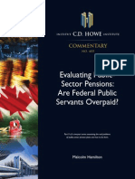Evaluating Public Sector Pensions