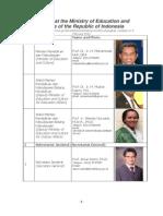 Daftar Pejabat Kementerian Pendidikan Dan Kebudayaan 2014-Update 6 Februari 2014