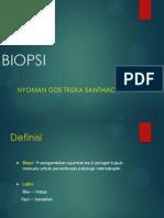 Incisional Biopsi