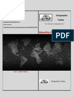 GeographyToday - Monthly Facts Brochure No.2 March 2014