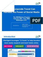 Social Media and Corporate Travel
