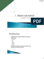 1. Materi Lab Switch Pengenalan
