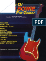 David Bowie - The Best of - Guitar Songbook