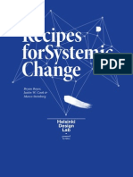 In Studio-Recipes for Systemic Change