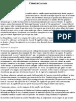 Clase Inaugural -C Tedra Garreta