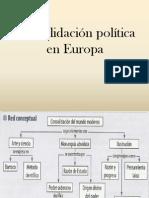 Consolidacion Politica en Europa