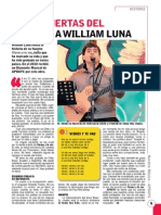 "Historia de ""Vienes y te vas"" de William Luna"