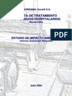 IAR Aborgama Residuos Hospitalarios Montevideo