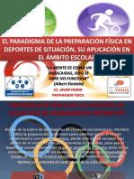 El paradigma de la preparación física en deportes hacia la escuela