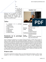 Stanislav Grof - Wikipedia, La Enciclopedia Libre