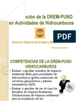 6.Participacion DREM Actividades en Hidrocarburos