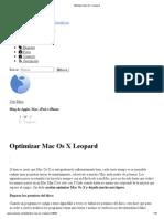 Optimizar Mac Os X Leopard