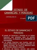 EL  ESTADO  DE GANANCIAS  Y PERDIDAS PCGE.ppt