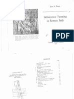 Frayn, Subsistence Farming in Roman Italy