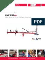 Instruction Manual HMP PDGpro en 07 2013