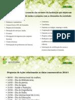 Possíveis Atividades de Extensão 2014-1