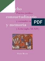Miceli, Derecho Consuetudinario y Memoria
