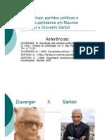 07-Aula Maurice Duverger-Partidos e Sistemas Pa