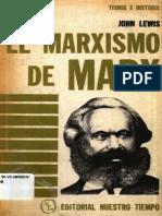 El Marxism Ode Marx