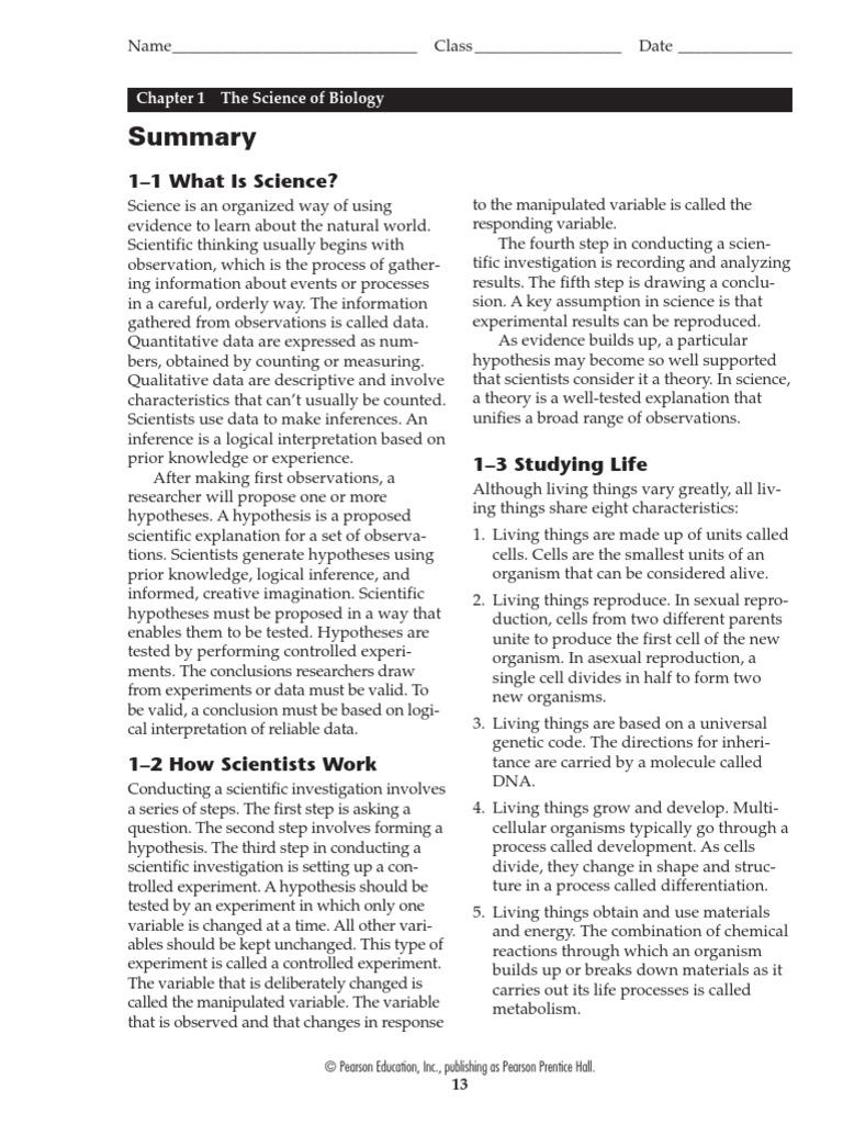 Collection of Miller And Levine Biology Worksheets Sharebrowse – Biology Worksheet