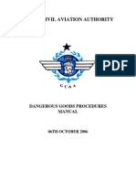 Dangerous Goods Procedures Manual