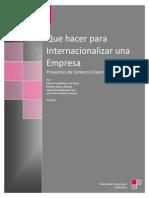 Internacionalización - Manuel del Exportador