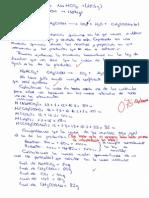 Examenes Estequiometria 4ºC