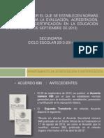 Presentacion_acuerdo 696 Secundaria Modificado