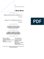 Brief amicus curiae American Cable Association supporting Aereo in ABC v. Aereo, Supreme Court No. 13-461