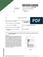 Captador plano de radiación solar y procedimiento para la obtención de la superficie ennegrecida
