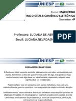 AULA 01 - MARKETING DIGITAL E COMÉRCIO ELETRÔNICO