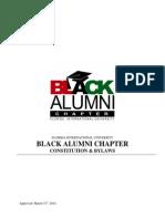 Black Alumni Constitution [2014]