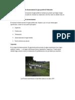 Red de Abastecimiento de Agua Potable de Riobamba (1)