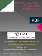 Epidemiologia de La Enfermedad Periodontal 1