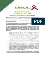 Informe Nro 10 de REDBOL Enero a Febrero 2014