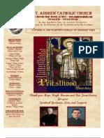 October 25, 2009 Bulletin