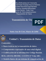 Unidad 1 Transmisión de Datos