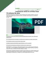 Dinosaurio Del Artico