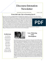 Discourse Intonation Newsletter4