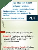 S1 Clase 4 Magnitudes y Unidades