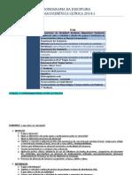 Cronograma Farmacocinética 2014.1