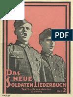 Breuer, Franz - Das neue Soldaten-Liederbuch - Heft 2