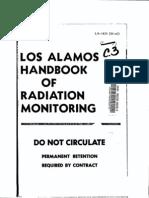 LANL HB of Radiation Monitoring 3rd Ed. LA-1835 11-1958