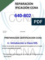 PREPARACI+ôN CERTIFICACI+ôN CCNA (CISCO IOS)