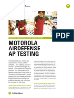 Airdefense AP Test Spec Sheet