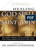 The Healing God Spell of Saint John - Lovewisdom, Johnny