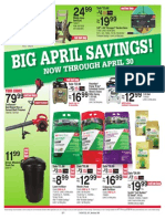 Seright's Ace Hardware April 2014 Red Hot Buys